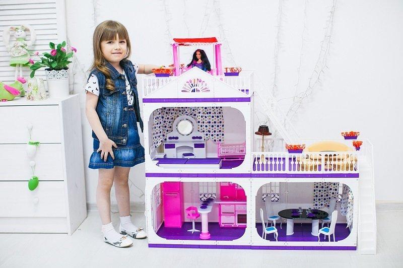 Коттедж для кукол Конфетти фото